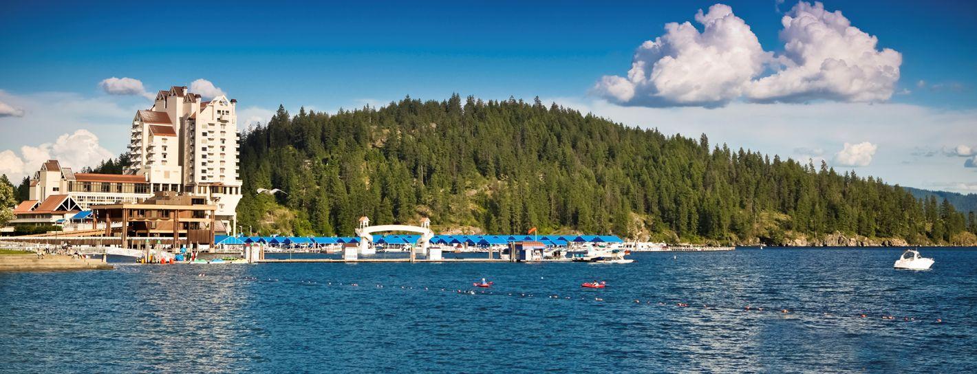 Image of Coeur d'Alene Lake, Coeur d'Alene, Idaho